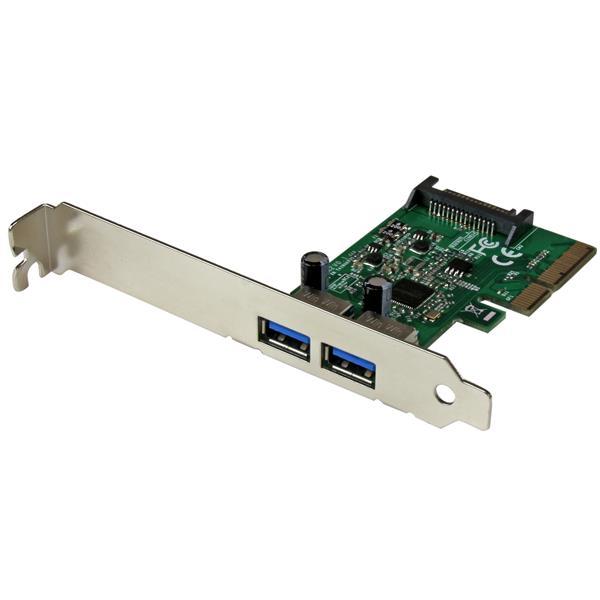 StarTech.com 2-Port USB 3.1 (10Gbps) Card - 2x USB-A - PCIe