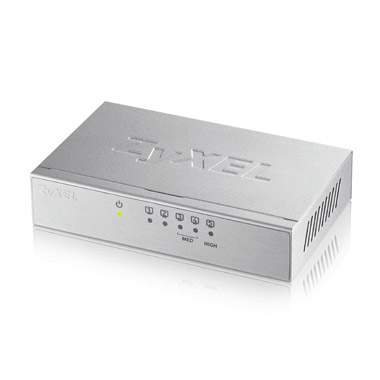 Zyxel GS-105B v3 No administrado L2+ Gigabit Ethernet (10/100/1000) Plata