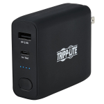 Tripp Lite UPBW-05K0-1A1C power bank Black Lithium-Ion (Li-Ion) 5000 mAh