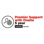 Lenovo 5 Year Premier Support With Onsite 5WS0T36170