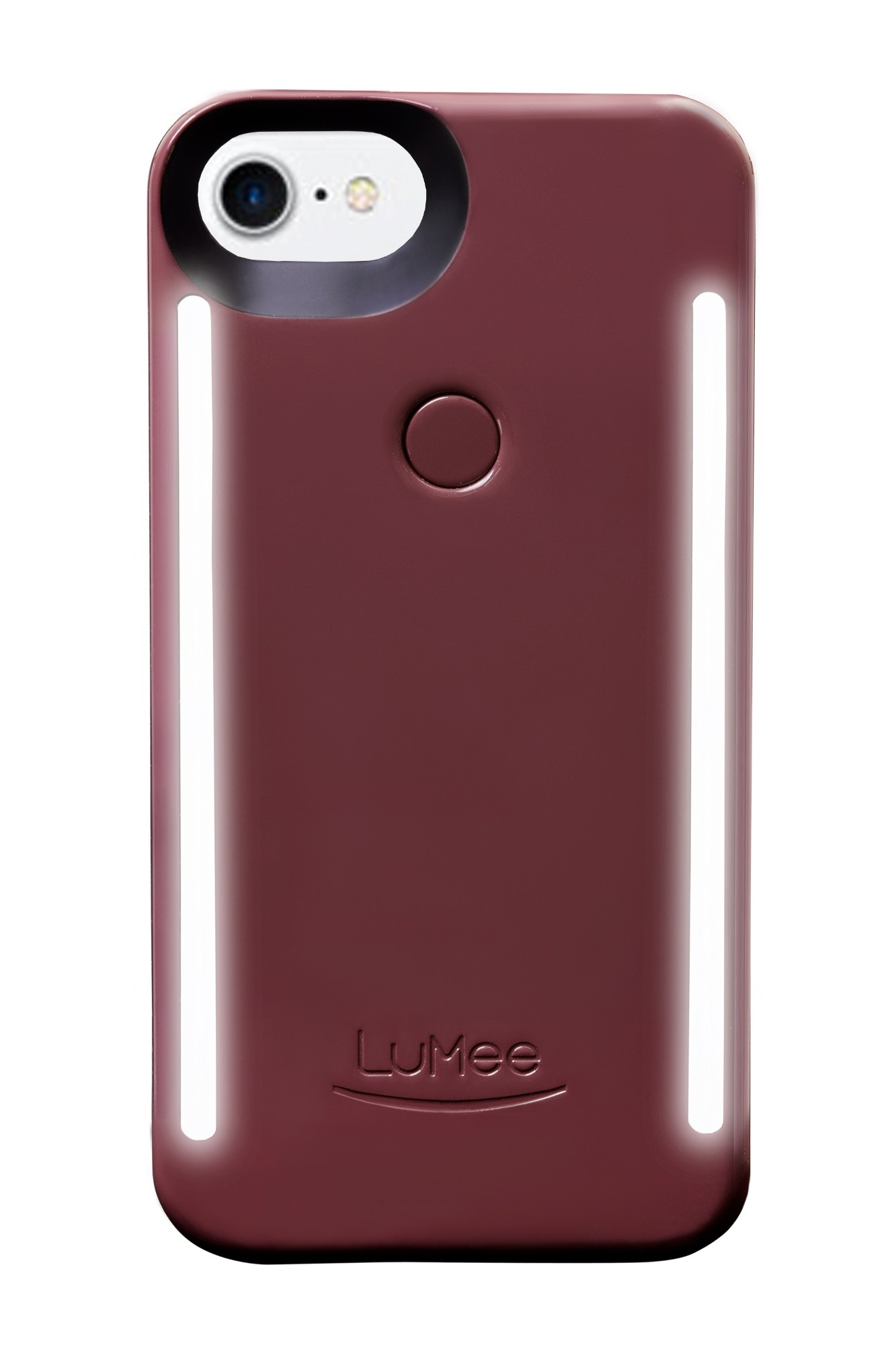 Lumee Duo iPhone 6/6s 7/8 Plum Noir