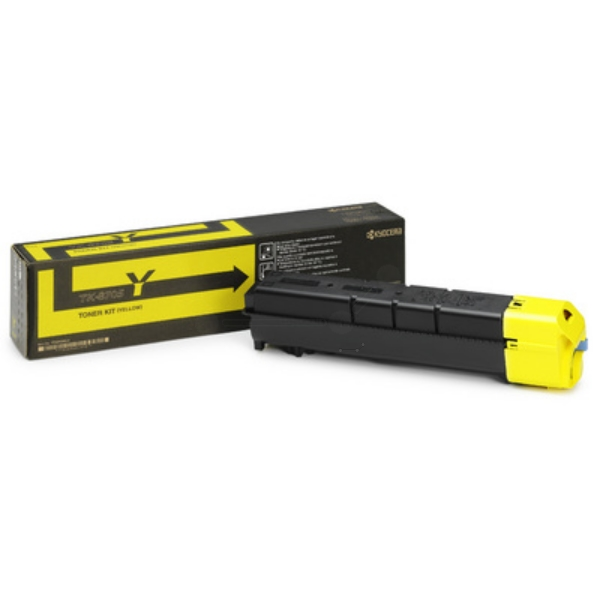 Kyocera 1T02K9ANL0 (TK-8705 Y) Toner yellow, 30K pages