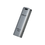 PNY FD64GESTEEL31G-EF USB flash drive 64 GB 3.2 Gen 1 (3.1 Gen 1) Stainless steel