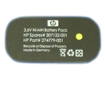 Hewlett Packard Enterprise 307132-001 household battery Single-use battery Nickel-Metal Hydride (NiMH)