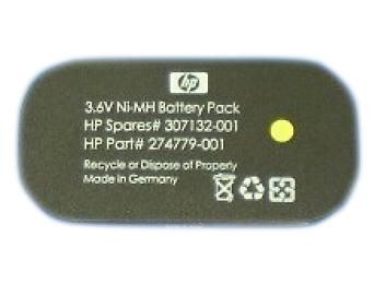 Hewlett Packard Enterprise 307132-001 household battery Single-use battery Nickel-Metal Hydride (NiMH)