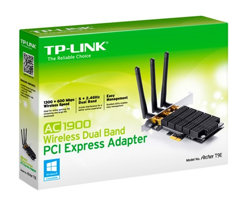 TP-LINK Archer T9E Internal WLAN 1300Mbit/s