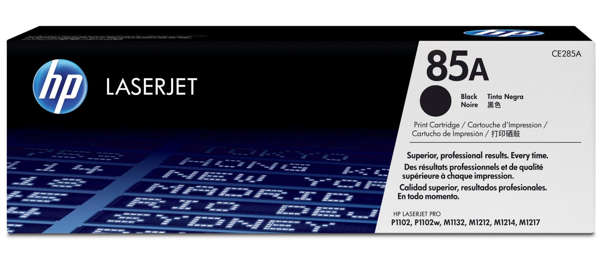 HP 85A Origineel Zwart 1 stuk(s)