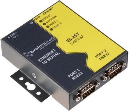 Brainboxes ES-257 networking card Ethernet 100 Mbit/s