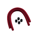 Cablemod CM-ASK-S2KR-R hardware cooling accessory Red