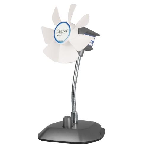 ARCTIC Breeze Color (Silver) - USB Table Fan