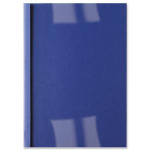 GBC LeatherGrain Thermal Binding Covers 1.5mm Royal Blue (100) binding cover