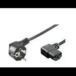 Microconnect PE010530 power cable Black 3 m CEE7/7 C13 coupler