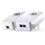 Devolo dLAN 1200+ WiFi ac Starter Kit 1200 Mbit/s Ethernet LAN Wi-Fi White 2 pc(s)
