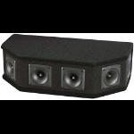 Pyle PAHT6 loudspeaker 150 W Black Wired