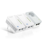 TP-LINK AV500 500Mbit/s Ethernet LAN Wi-Fi White 3pc(s) PowerLine network adapter