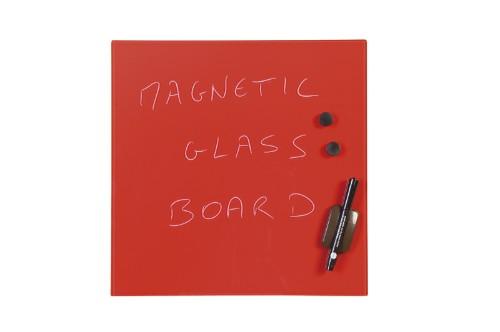 Bi-Office GL150301 magnetic board Glass Red