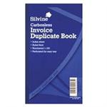 Silvine DUP BOOK 8.25X5 INVOICE 711-T