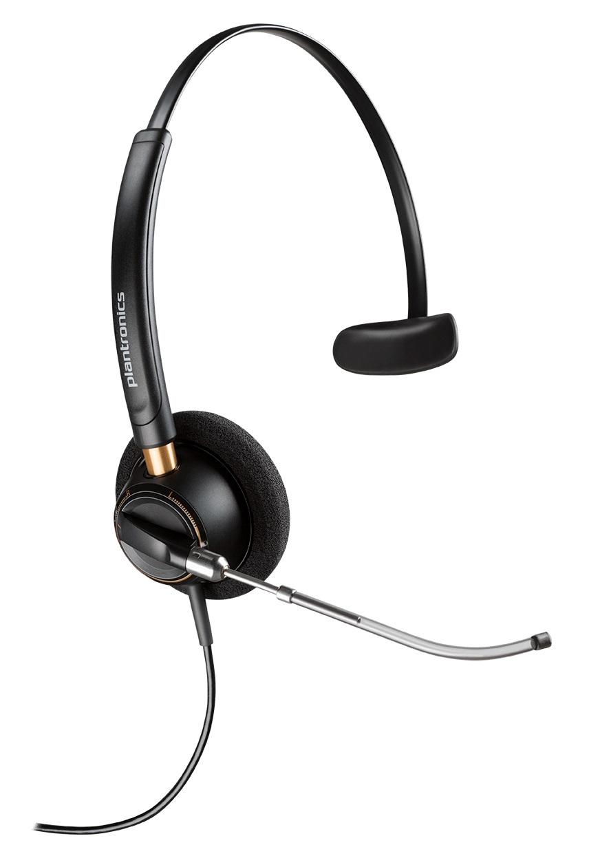 Plantronics EncorePro HW510V Monaural Head-band Black headset