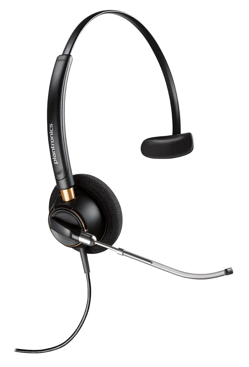 POLY EncorePro HW510V Auriculares Diadema Negro
