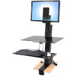 Ergotron 97-845 multimedia cart/stand Multimedia stand Black