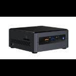 Intel NUC BOXNUC7CJYH4 PC/workstation barebone J4005 2.00 GHz UCFF Black BGA 1090