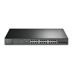 TP-LINK JetStream 28-Port Gigabit L2 Managed Switch with 24-Port PoE+