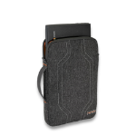 """Higher Ground Elements Trace notebook case 15"""" Sleeve case Gray"""