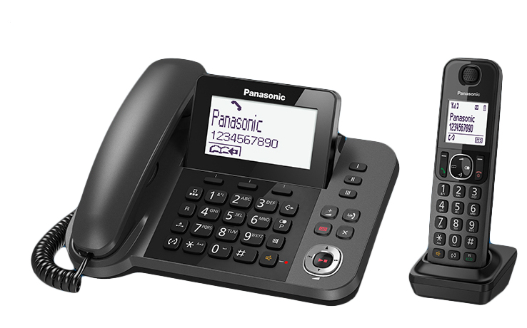 Panasonic KX-TGF320E Corded / Cordless Combo with