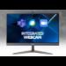 """Acer Chromebase 24 CA24I2 60.5 cm (23.8"""") 1920 x 1080 pixels Intel® Celeron® 4 GB DDR4-SDRAM 32 GB SSD Chrome OS Wi-Fi 5 (802.11ac) All-in-One PC Silver"""