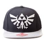 Nintendo Legend of Zelda Twilight Princess Embroidered Royal Crest Logo Snapback Baseball Cap, One Size, Blac