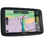 "TomTom VIA 62 navigator 15.2 cm (6"") Touchscreen Fixed Black 280 g"