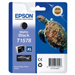 Epson C13T15784010 (T1578) Ink cartridge black matt, 26ml