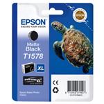 Epson C13T15784010 (T1578) Ink cartridge black matte, 26ml