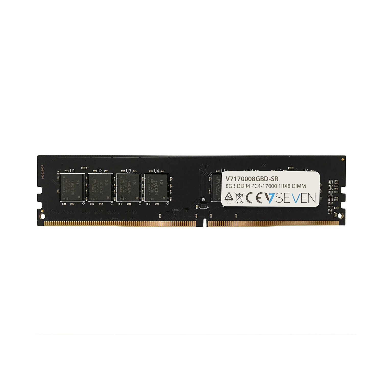 V7 8GB DDR4 PC4-17000 - 2133MHz DIMM módulo de memoria - V7170008GBD-SR