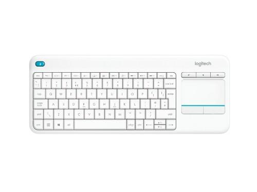 Logitech K400 Plus keyboard RF Wireless AZERTY French White