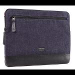 "Decoded DA4SS15BKDM 15"" Sleeve case Black,Blue notebook case"