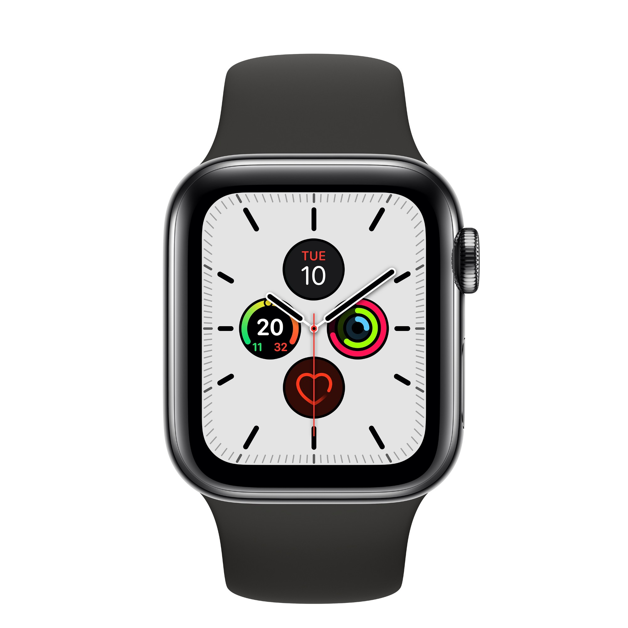 Apple Watch Series 5 smartwatch Black OLED Cellular GPS satellite