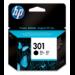 HP Cartucho de tinta original 301 negro