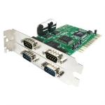 StarTech.com PCI4S550N interface cards/adapter Internal Parallel