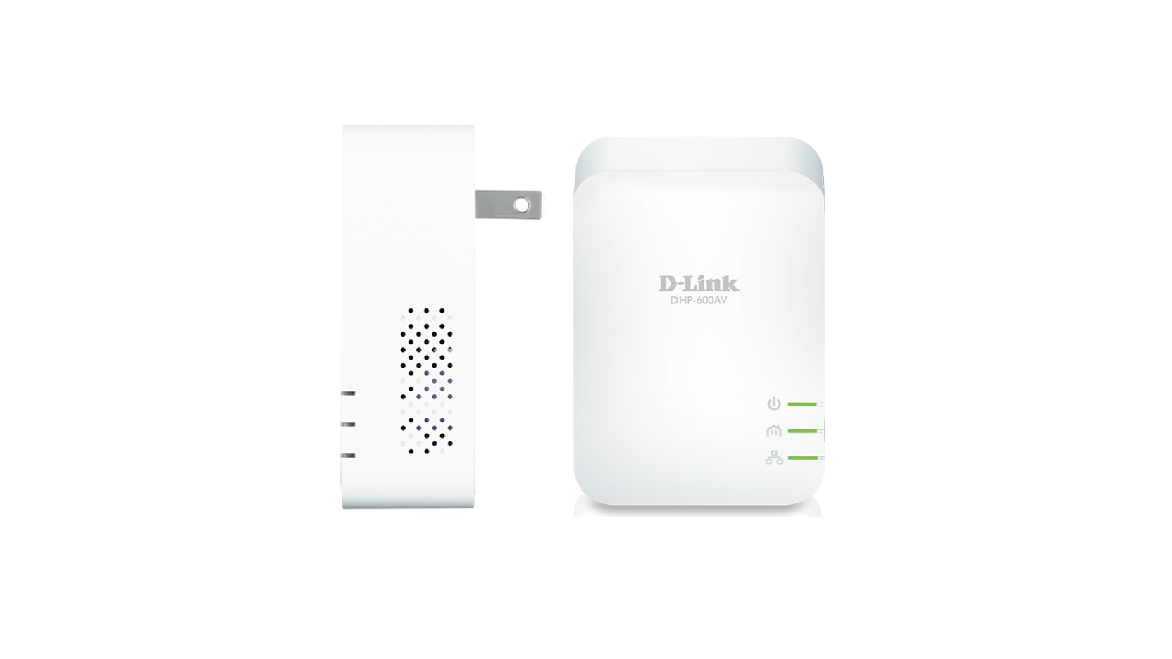 D-Link PowerLine AV2 1000Mbit/s Ethernet LAN White 2pc(s) PowerLine network adapter