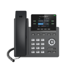 Grandstream Networks GRP2612W IP phone Black Wired handset TFT 2 lines Wi-Fi