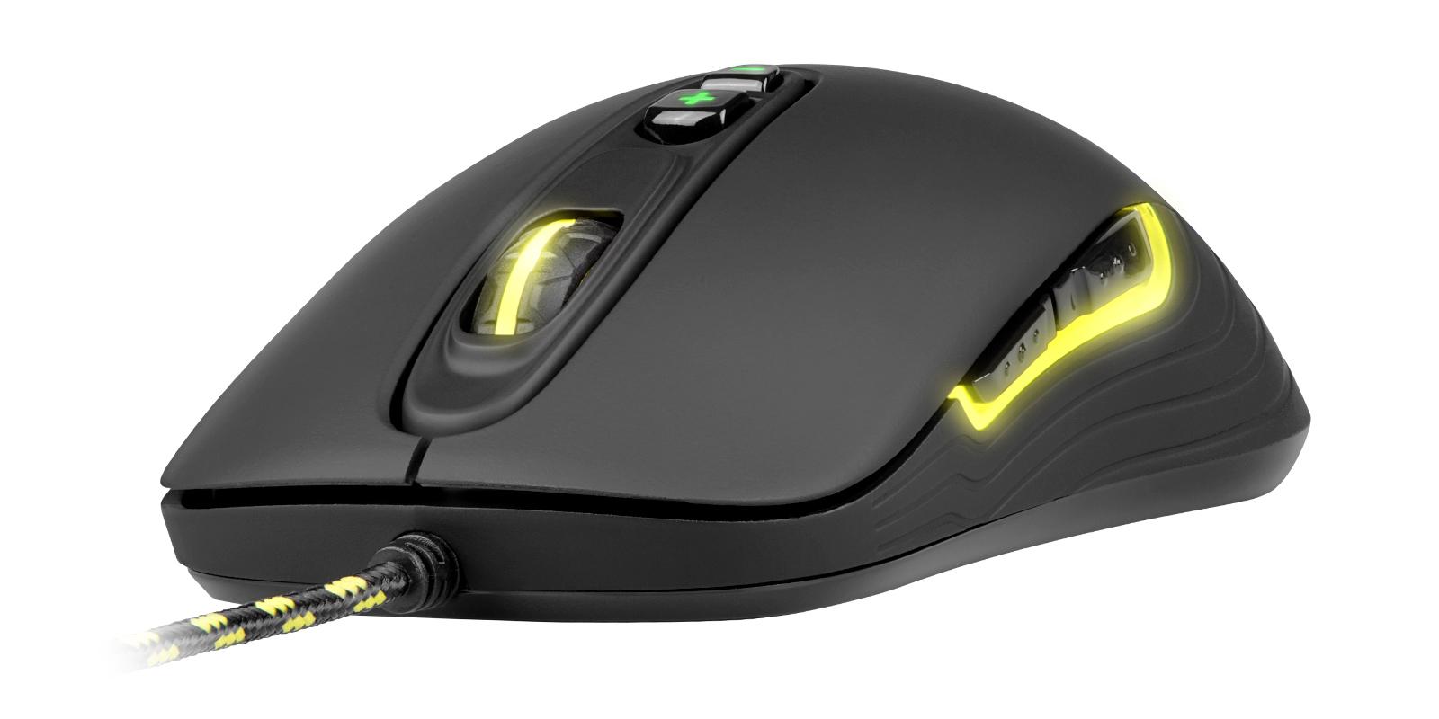 Xtrfy M2 USB Optical 4000DPI Right-hand Black mice