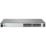 Hewlett Packard Enterprise 2530-24G-PoE+-2SFP+ Managed L2 Gigabit Ethernet (10/100/1000) Power over Ethernet (PoE) Stainless steel