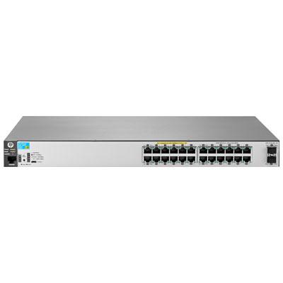 Hewlett Packard Enterprise 2530-24G-PoE+-2SFP+ Managed L2 Gigabit Ethernet (10/100/1000) Power over Ethernet (PoE) Stainless steel