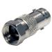 StarTech.com BNC to F Type Coaxial Adapter F/M