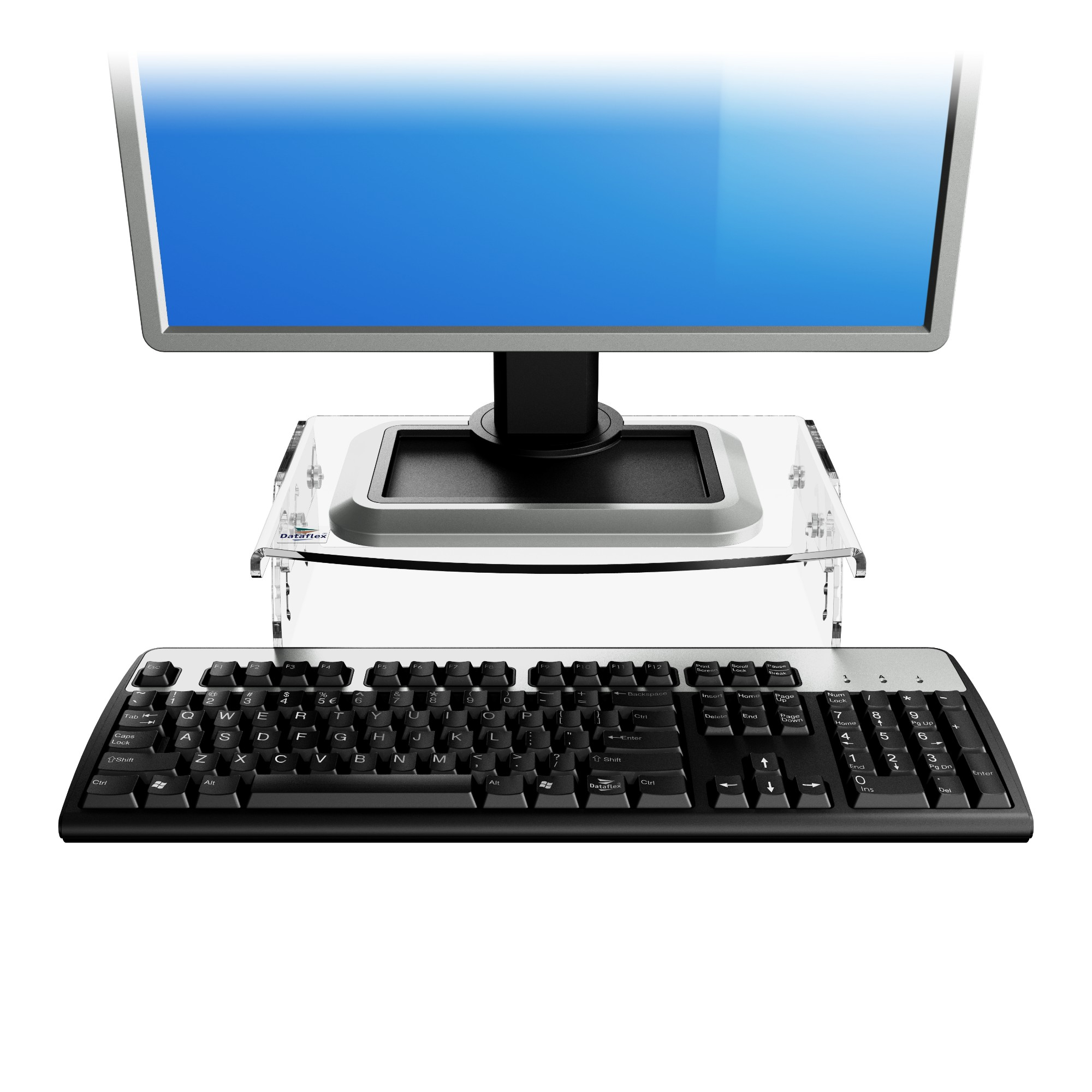 Dataflex Addit monitorverhoger - verstelbaar 550