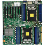 Supermicro X11DPH-T server/workstation motherboard Intel® C624 LGA 3647 (Socket P) Extended ATX