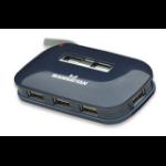Manhattan 161039 interface hub 480 Mbit/s Blue