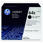 HP CC364XD (64XD) Toner black, 24K pages, Pack qty 2
