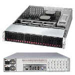 Supermicro SuperServer 6028R-E1CR12N Intel C612 Socket R (LGA 2011) 2U Black